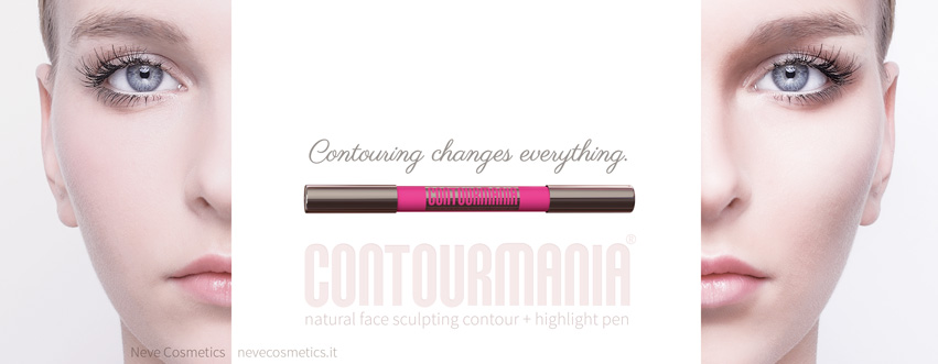 CONTOURMANIA. Natural face sculpting contour by Neve Cosmetics