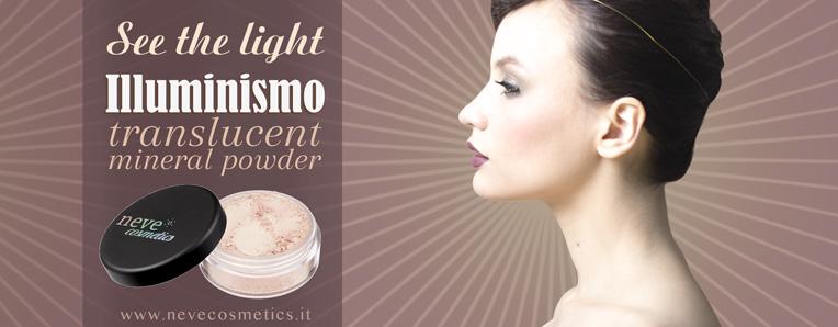 Illuminismo, la nuova cipria Neve Cosmetics