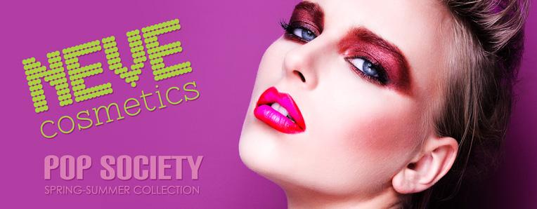 Pop Society, la nuova collezione Neve Cosmetics.