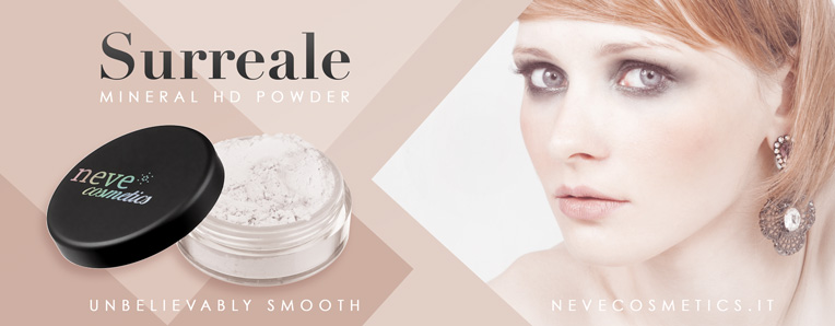Surreale, la nuova cipria HD Neve Cosmetics.